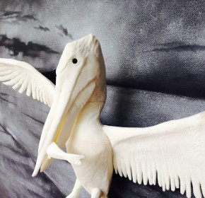 Pelican (Background artwork Jeff McGrath)